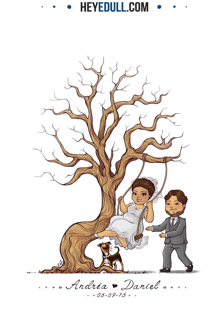 Árvore Andréa e Daniel HEYEDULL