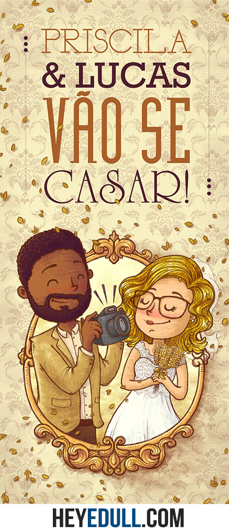 Casamento de Luca e Priscila