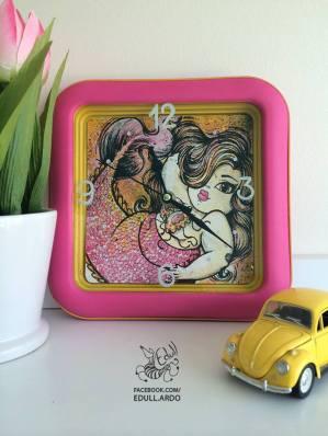 Mermaid Clock