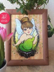 tinkerbell-framed